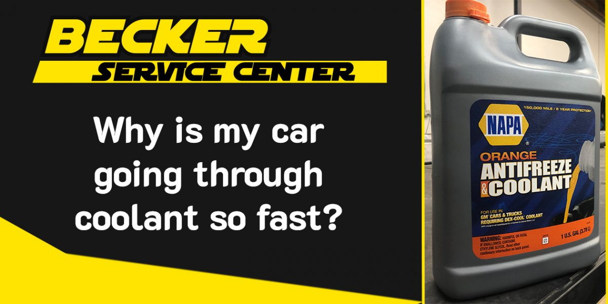Why Is My Car Going Through Coolant So Quickly?