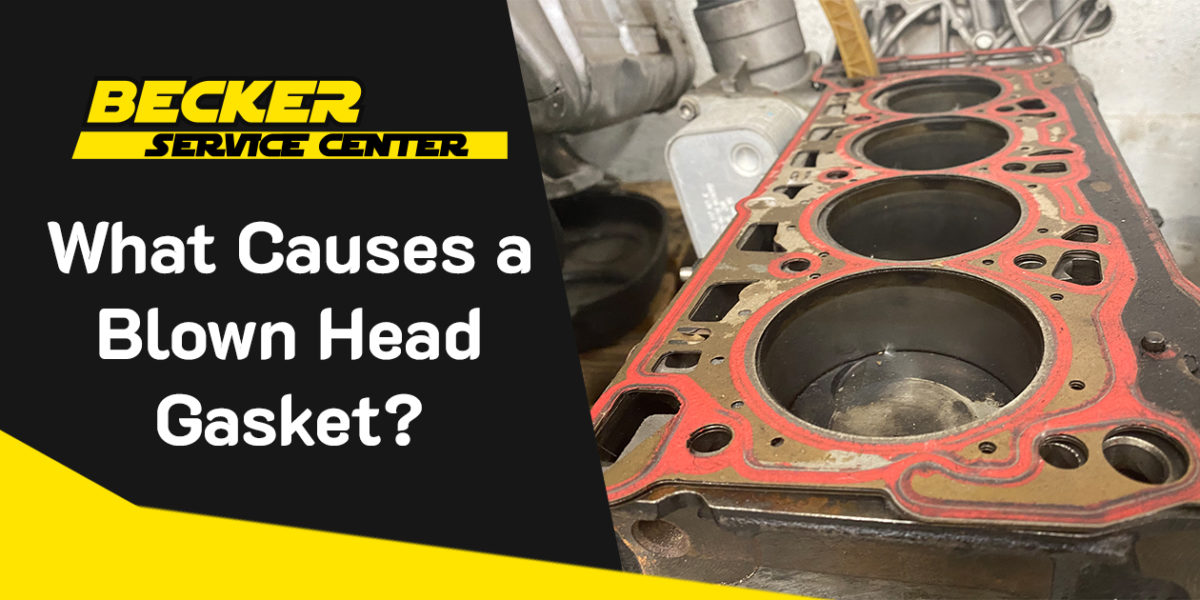 What Causes a Blown Head Gasket?